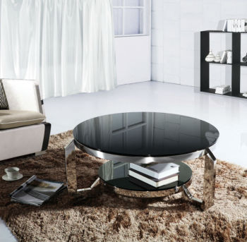round corner coffee table,dubai coffee table,metal glass round coffee tables MR-KQB125