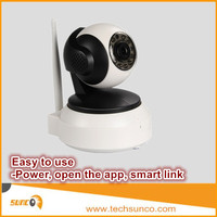 720P easy use robot wireless network IP camera for home/business