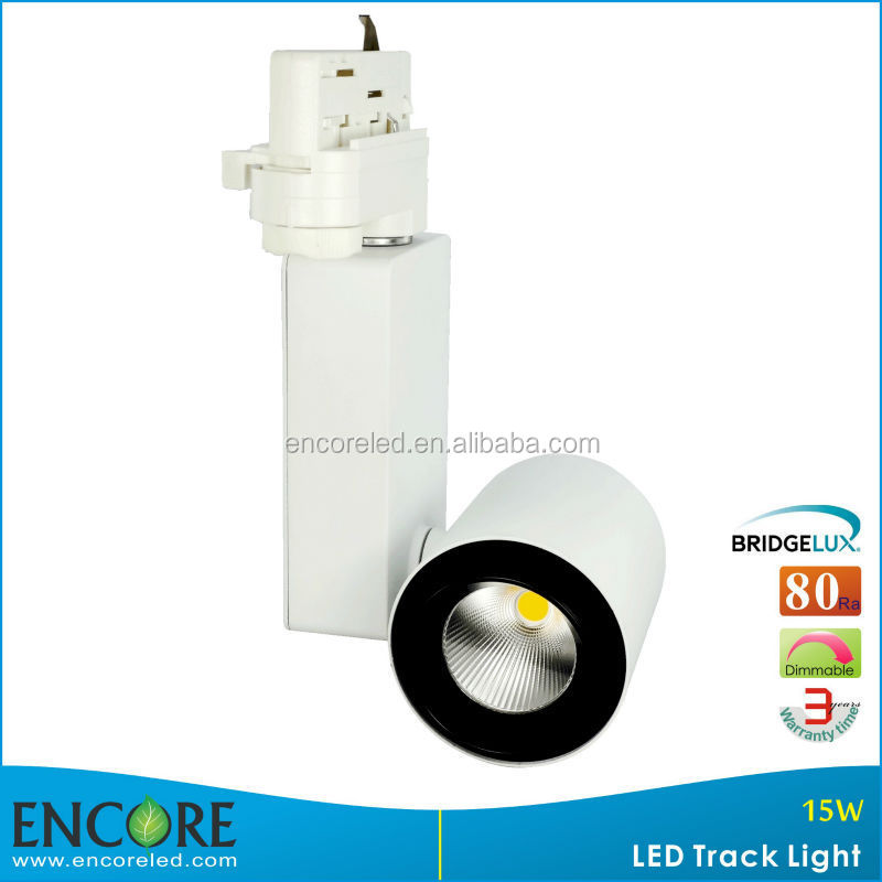 180 Degree Vertical Aim to Floor 220V Bridgelux COB LED Track Light/lamp