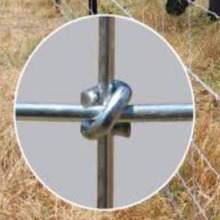 Woven Wire Deer Fence and Livestock farm fence/fixed knot galvanized steel deer fence