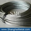 galvanized steel wire rope and steel wire cable