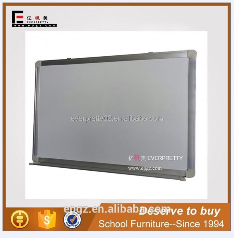 Flexible Magnetic Whiteboard With Aluminum Pen Tray for Office