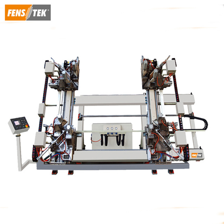CNC Vertical 4 Point Welding Machine of pvc door and window making machine