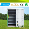 multi purpose galvanized high snow load varnished metal building for tools storage
