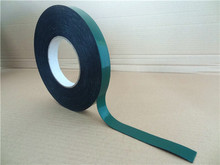 0.5mm thickness green film black pe foam tape for car