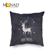Monad latest decorative christmas santa claus snowman reindeer bright glow light led pillow cushion covers