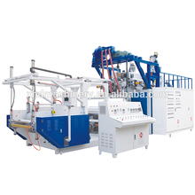 New arrival weight 10T 120kw fully automatic production line/pe film extrusion line LLDPE
