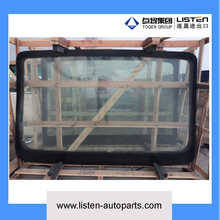 whole bus glass including front and rear windscreen and all side window glass