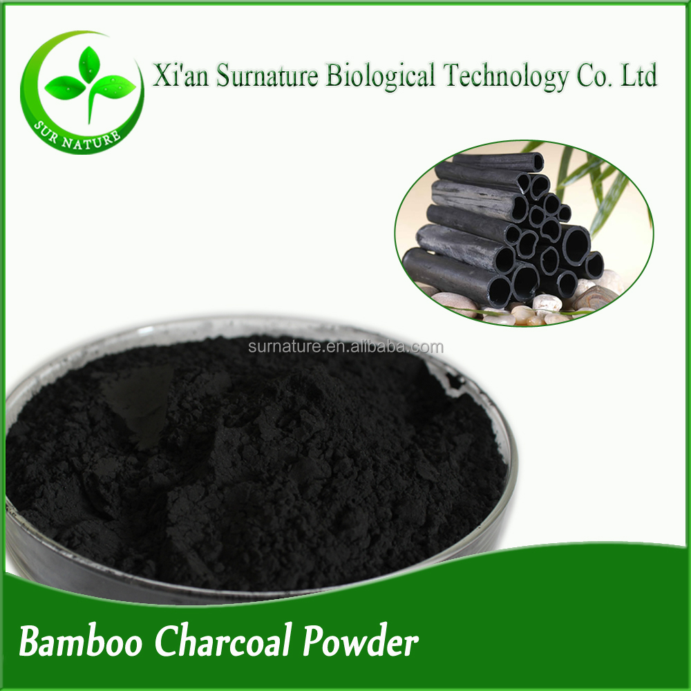 High quality natural 100% bamboo charcoal powder Silica 50%, 60%,70%