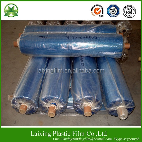 Blue color 100% virgin LDPE film
