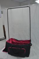 2016 new design Luggage bag with metal garment rack/travel luggage bags