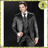 2015 new Fashion Business Wedding Slim Fit Man Suit for Brazil