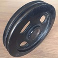 OEM Cast Steel Double U groove pulley for motor
