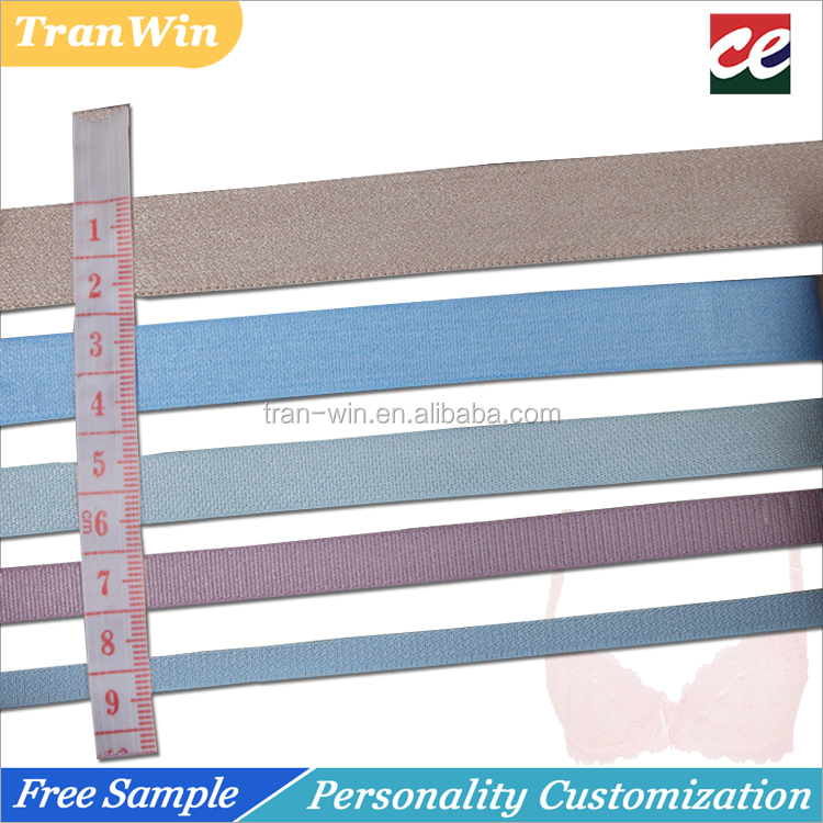 Reflective strong bra elastic shoulder band strap material