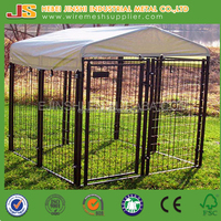 Outdoor Easy install Black color large Dog kennels/Dog cages