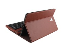 Ultra thin Bluetooth Keyboard for ipad, keyboard leather case for samsung galaxy tab s 8.0inch T700-T700