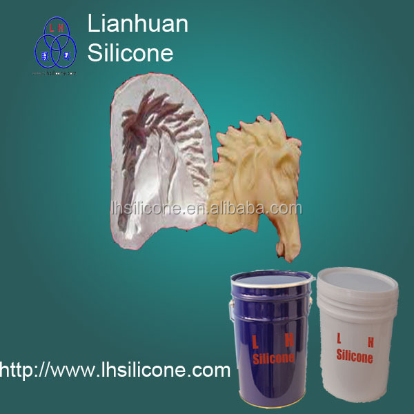 liquid silicone rubber to make the plaster products molds