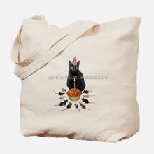 OEM service custom promo organic cotton fabric tote bag canvas personalised bags