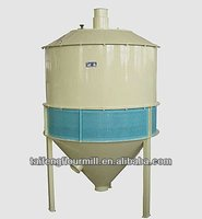 Wind absorbing separator/flour mill cleaning equipment/commercial grain mill