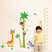 Colorful Wall Sticker Growth Chart Height Measurement Kids