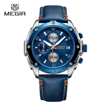 2018 Chinese Manufacture New Product Megir 2074 Fashion Wrist Watches Men