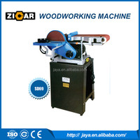 "Combination belt and disc sander machine with cabinet stand SD69 with 6""belt and 9"" disc"