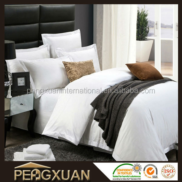 PX wholesale best price plain hotel 100% cotton quited bedspread