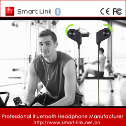 Magnetic wireless earpiece for sports 4.1 bluetooth headsets for phones