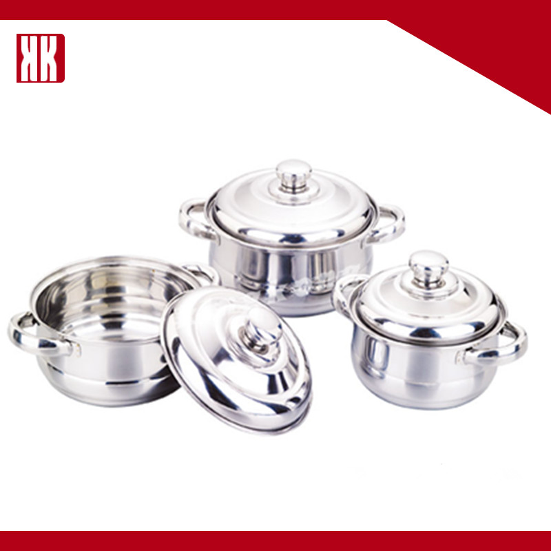 Factory Promotion Hot Sales Stainless Steel Cookware Sets/Cooking Casserole Pots