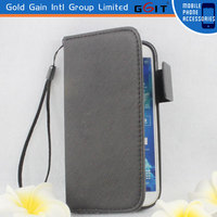 Formal PU Wallet Case For Samsung S4 i9500, PU Case Flip Cover For Galaxy S4 i9500