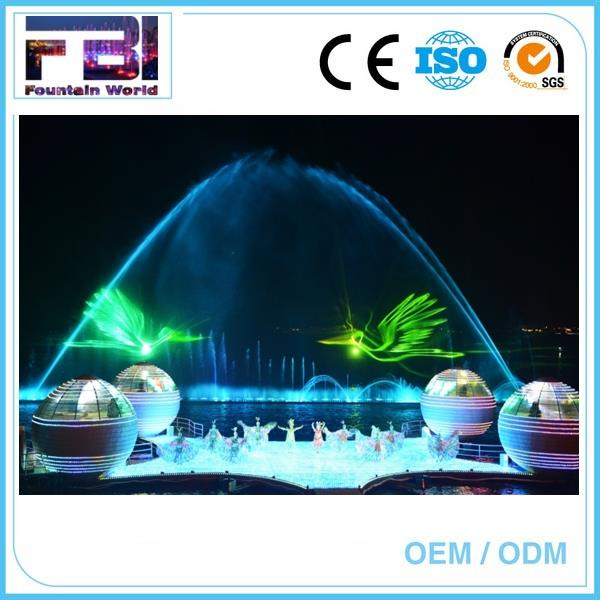 water screen projection water screen and laser show mini laser show system