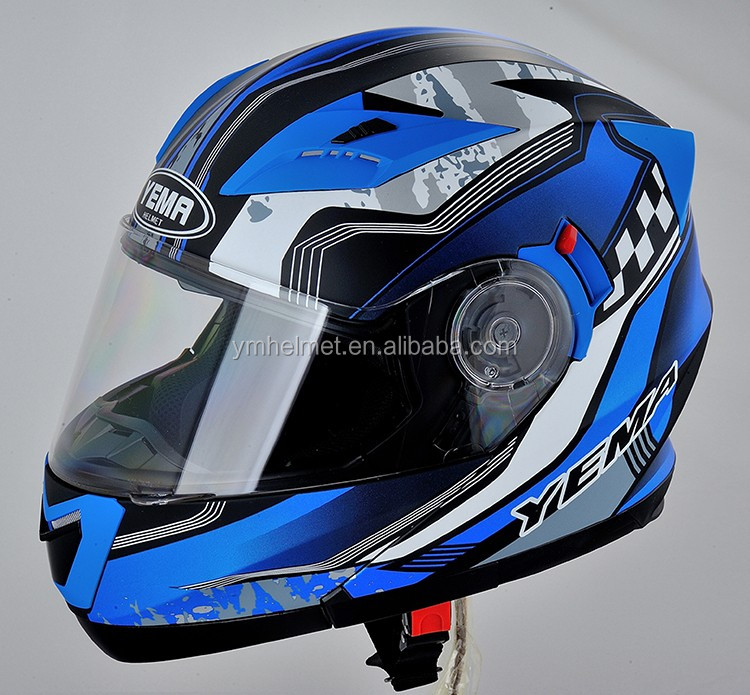 Motorcycle accessories Dot approved casco moto full face custom motorcycle full helmet