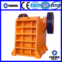 ISO Crusher Easy to maintenance jaw crusher price list