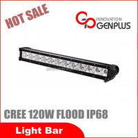 Newest! Car accessories led working light 120W Flood beam high power led bar lights