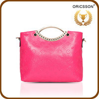 Best selling ladies leather shoulder lady handbag CN