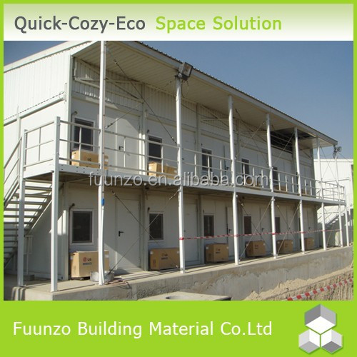 Plastic Timber Decoration Convenient to Install Modular Steel Homes