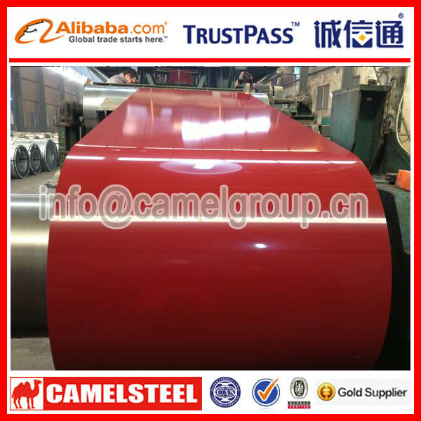 Porcelain Coated Steel 2014 Hot Sale Color Coated Steel