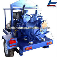 Self Priming Sewage Trailer Pump