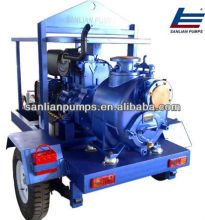 Self-priming Sewage Trailer Pump