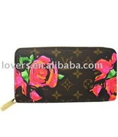 2012 most fashionable Korean style of ladies PU purse