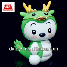 ICTI factory 2014 wholesale small plastic toy dragons