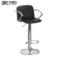 factory price leather cheap bar chairs with back modern kitchen bar stool