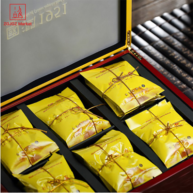 High-end Chinese Tea Gift Box Runsi Premium Keemun Black Tea 180g Royal Series Worthy of Collection Rong