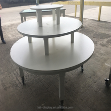 High quality clothing wooden display table for sale