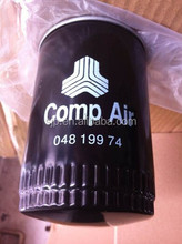 Compair oil filter 04819974 for screw air compressor parts