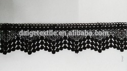 Elastic lace trimming with nice design and best price for women dress
