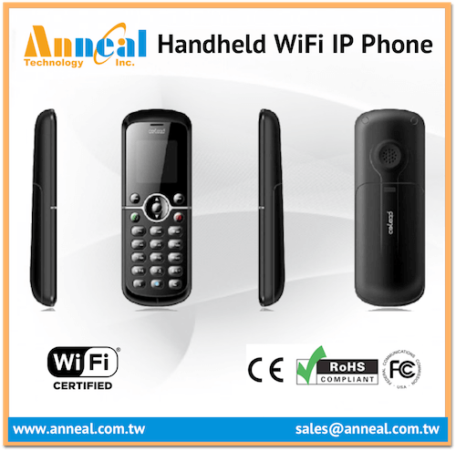 Low Cost Cheap Wireless IP Cordless VoIP Phone WiFi SIP PBX