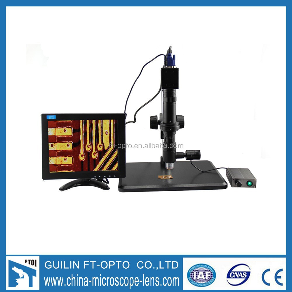 small vga lcd monitor for microscope with hdmi input lcd monitor