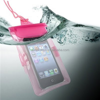 Universal mobile phone PVC Waterproof Bag Case