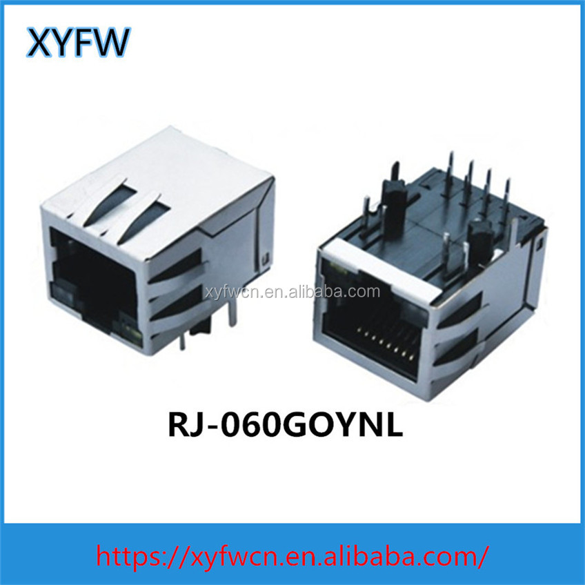 Environmental best price 8p8c RJ45 socket network adapter